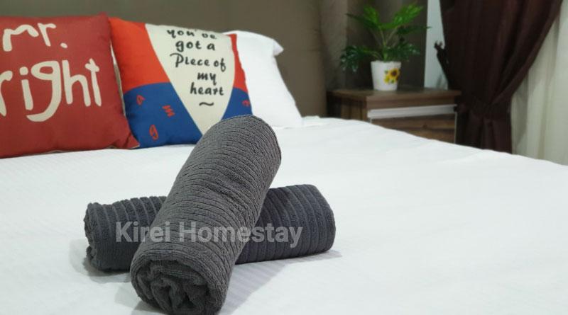 Homestay Kajang, 3 bilik, ada wifi & astro