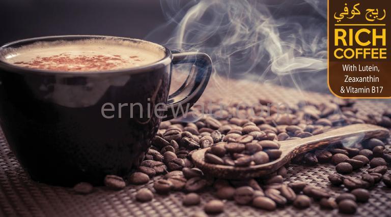 Rich Coffee, kopi lutein terbaru untuk mata anda