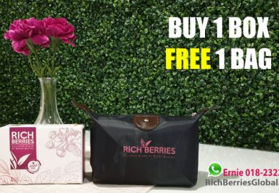 Promo Rich Berries terkini 2019